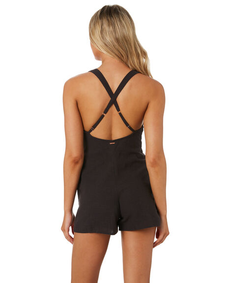 DUSTY GREY OUTLET WOMENS VOLCOM PLAYSUITS + OVERALLS - B2841977DGREY