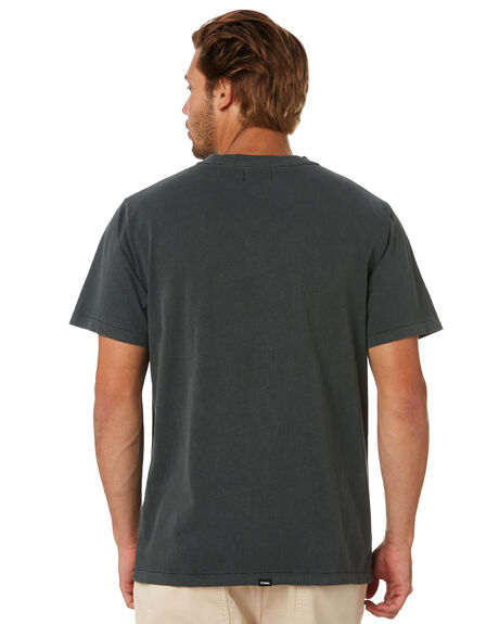 MERCH BLACK MENS CLOTHING THRILLS TEES - TA20-125BMMCBLK