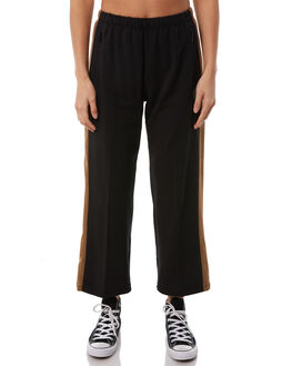 WASHED BLACK WOMENS CLOTHING RVCA PANTS - R284271WBLK