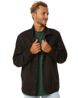 BLACK MENS CLOTHING GLOBE JACKETS - GB01627004BLK