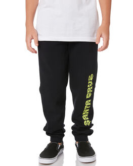 BLACK KIDS BOYS SANTA CRUZ PANTS - SC-YPA9206BLK