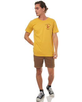 MUSTARD MENS CLOTHING THE LOBSTER SHANTY TEES - LOBSTERTANKMUST