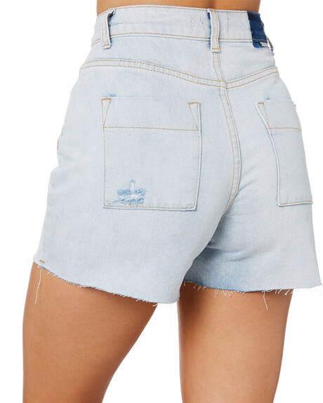 BLUE ICE WOMENS CLOTHING RIP CURL SHORTS - GWAFT15294
