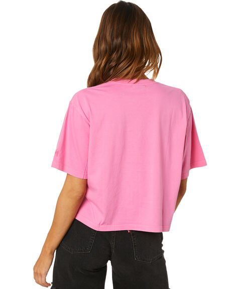 ORCHID WOMENS CLOTHING STUSSY TEES - ST1M0167ORC