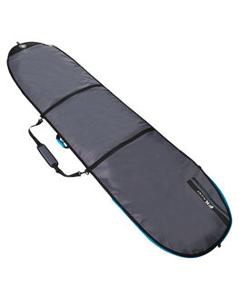 CHARCOAL SILVER BOARDSPORTS SURF FAR KING BOARDCOVERS - 1321-23CHAR