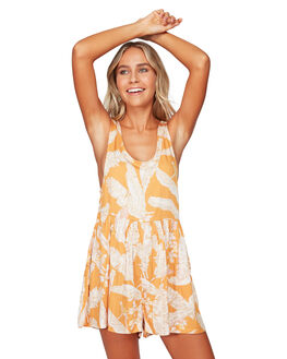 GOLD WOMENS CLOTHING BILLABONG PLAYSUITS + OVERALLS - BB-6592501-GOL