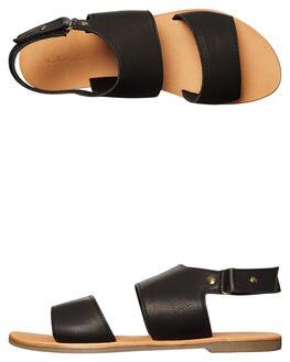 BLACK WOMENS FOOTWEAR URGE FASHION SANDALS - URG17074BLK