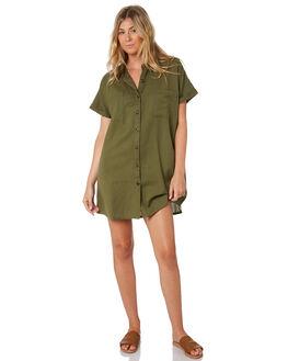 KHAKI WOMENS CLOTHING SWELL DRESSES - S8201455KHAKI