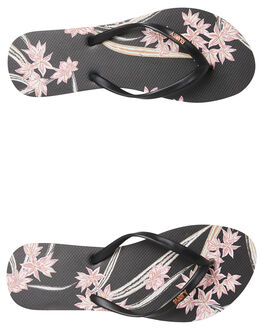 SHELL PINK WOMENS FOOTWEAR RUSTY THONGS - FOL0364SHP