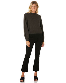 WASHED BLACK WOMENS CLOTHING ROLLAS KNITS + CARDIGANS - 13018-2493