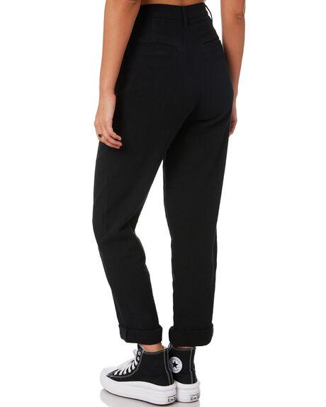 BLACK WOMENS CLOTHING RUSTY PANTS - PAL1186BLK