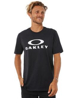 BLACK MENS CLOTHING OAKLEY TEES - 456930A02E