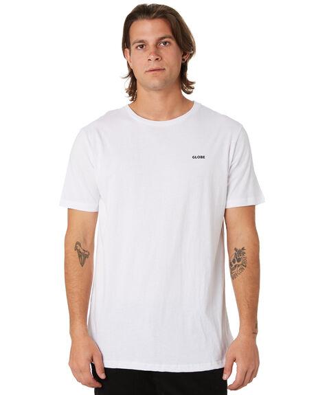 WHITE MENS CLOTHING GLOBE TEES - GB01910001WHT