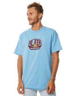 CAROLINA BLUE MENS CLOTHING ALIEN WORKSHOP TEES - OGTCBLUE