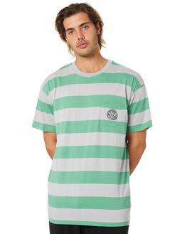 SEA FOAM MENS CLOTHING STUSSY TEES - ST005105SEAF