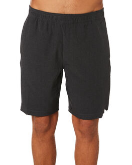 CHARCOAL GREY OUTLET MENS RIP CURL SHORTS - CWALS80084