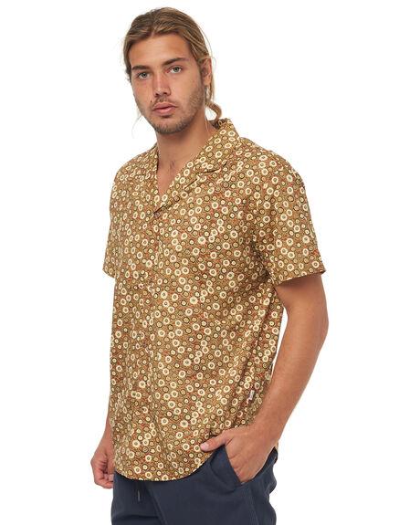 HENNA MENS CLOTHING RHYTHM SHIRTS - JAN18M-WT05HEN