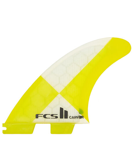 YELLOW SURF HARDWARE FCS FINS - FCAR-PC02-TS-RYELL
