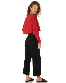 BEAT BLACK WOMENS CLOTHING RIDERS BY LEE JEANS - R-551561-KC1