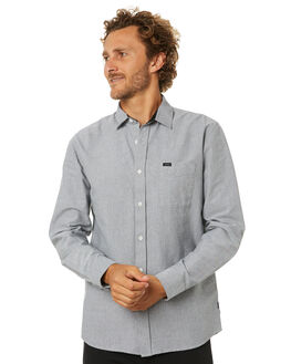 DARK GREY MENS CLOTHING RIP CURL SHIRTS - CSHLM11221