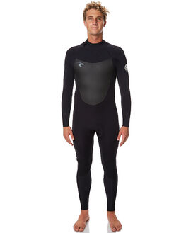 BLACK SURF WETSUITS RIP CURL STEAMERS - WSM6PM0090
