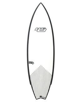 WHITE BLACK BOARDSPORTS SURF HAYDENSHAPES SURFBOARDS - HSUNTITLEDFFWHTBK
