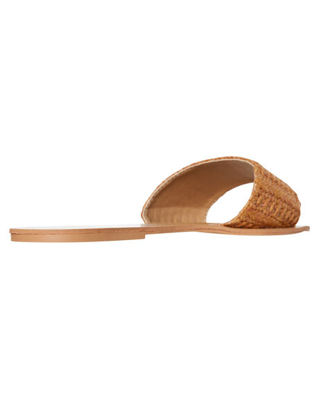 TAN RAFFIA OUTLET WOMENS BILLINI FLATS - S602TANRA