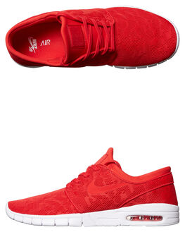 UNIVERSITY RED MENS FOOTWEAR NIKE SKATE SHOES - 631303-662