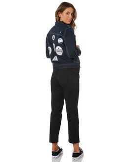 NAVY WOMENS CLOTHING VOLCOM JACKETS - B1531804NVY