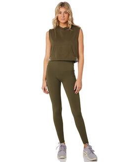 PALE OLIVE WOMENS CLOTHING LORNA JANE ACTIVEWEAR - 101938PLOLV