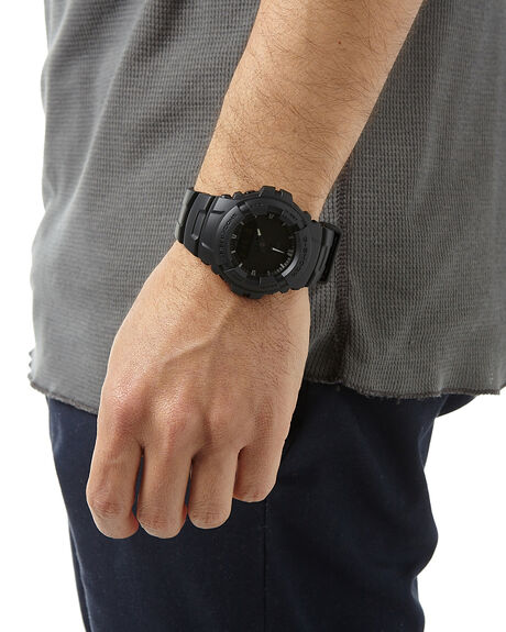 BLACK MENS ACCESSORIES G SHOCK WATCHES - G-100BB-1ABLK