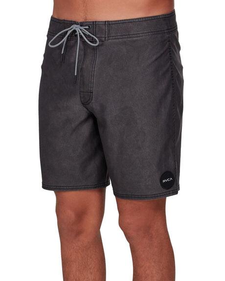 BLACK MENS CLOTHING RVCA BOARDSHORTS - RV-R192407-BLK