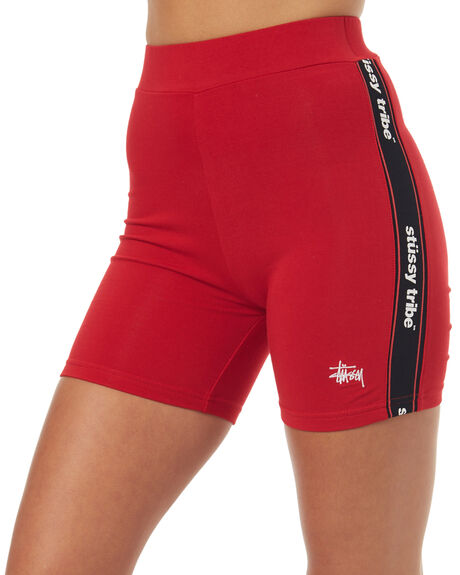 RED WOMENS CLOTHING STUSSY ACTIVEWEAR - ST173614RED