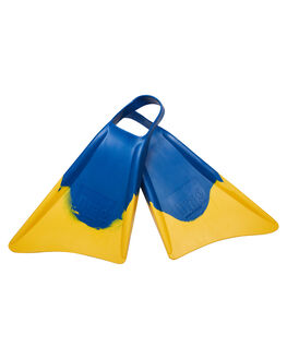 BLUE YELLOW BOARDSPORTS SURF DRAG ACCESSORIES - DBCFOOTDARTBLUYE