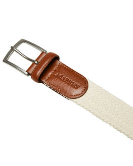 NATURAL MENS ACCESSORIES ACADEMY BRAND BELTS - 20S003NAT