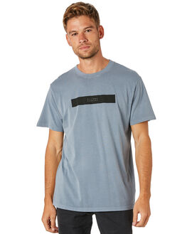 DUSTY BLUE MENS CLOTHING THRILLS TEES - TS8-123EDSBLU