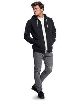 BLACK MENS CLOTHING QUIKSILVER JUMPERS - EQYFT03849-KVJ0
