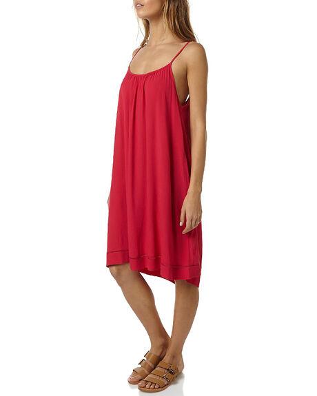RASPBERRY WOMENS CLOTHING RUSTY DRESSES - DRL0822RAS