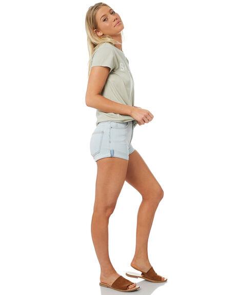 WASHED SLATE WOMENS CLOTHING BILLABONG SHORTS - 6572291WAS