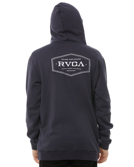 OIL GREY MENS CLOTHING RVCA JUMPERS - R183165OGRY