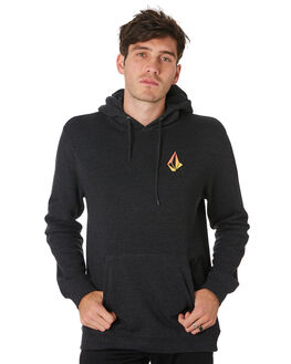 BLACK PRINT MENS CLOTHING VOLCOM JUMPERS - A4101910BPR