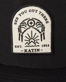 BLACK MENS ACCESSORIES KATIN HEADWEAR - HTDIR02BLK