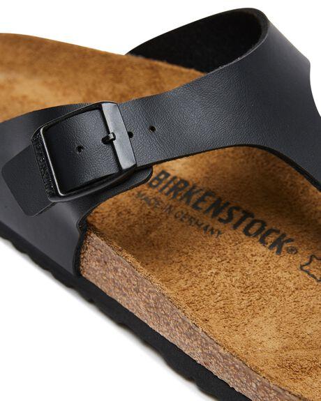 BLACK MENS FOOTWEAR BIRKENSTOCK THONGS - 043691MBLK