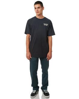 NAVY GREEN MENS CLOTHING VOLCOM PANTS - A1111601NVG