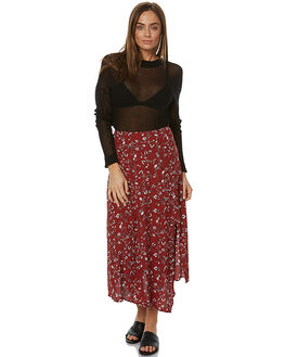 DARK JASMINE WOMENS CLOTHING THE FIFTH LABEL SKIRTS - TX170538SK-PRT1PRNT