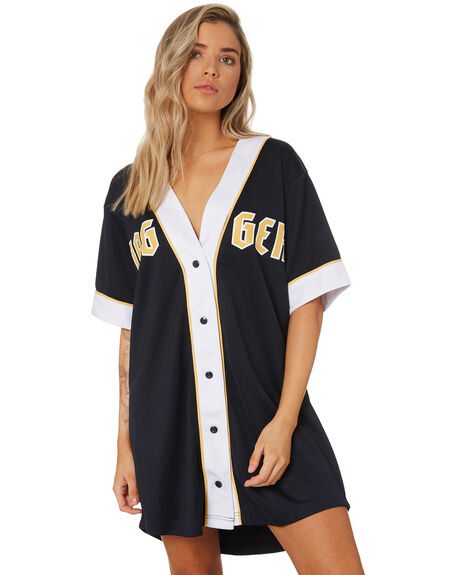 NAVY WOMENS CLOTHING JAGGER AND STONE DRESSES - JS139_NAVY