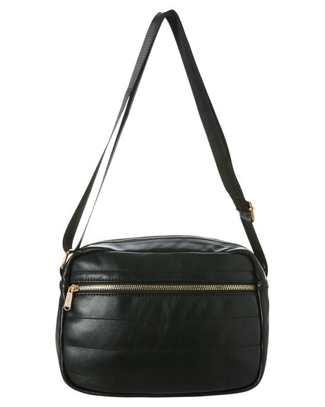 BLACK WOMENS ACCESSORIES URBAN ORIGINALS BAGS + BACKPACKS - 65-0027BLK