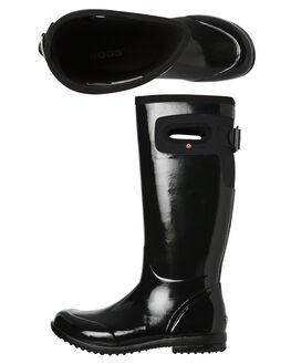 BLACK WOMENS FOOTWEAR BOGS FOOTWEAR BOOTS - 971554001