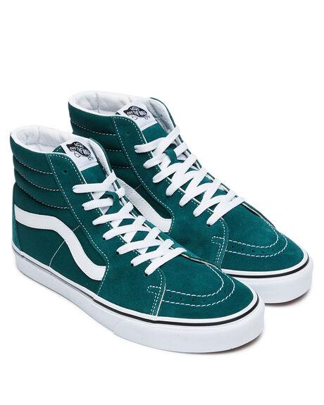 BISTRO GREEN MENS FOOTWEAR VANS SNEAKERS - VNA4U3C2NCGRN
