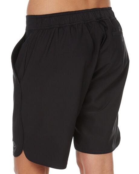 BLACK WOMENS CLOTHING RIP CURL SHORTS - GBOCK10090